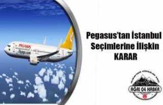 Pegasus İstanbul Seçimleri İçin Duyuru Yaptı