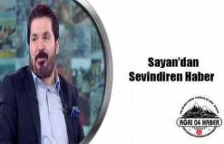 Sayan'ın Durumu İyiye Gidiyor