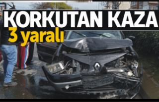 Ağrı da Trafik Kazası