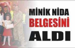 Ağrı Jandarma Nida Sena'yı Ağırladı