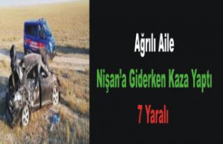 Ağrılı Alie Konya Yolunda Kaza Yaptı