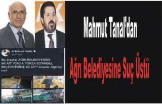 CHPli Tanal Ağrı Belediyesine Sordu