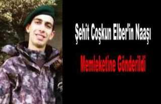 Şehit Polis Elber Memleketine Uğurlandı