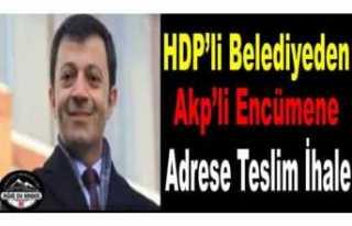 HDPli Başkan'dan Akp li Encümene İhale Kıyağı