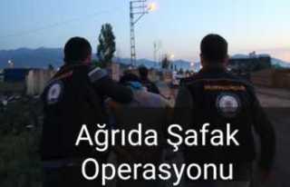 Ağrıda Şafak Operasyonu 26 Tutuklama