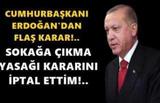 Erdoğan Tepkiler Sonrası İptal Kararı Aldı