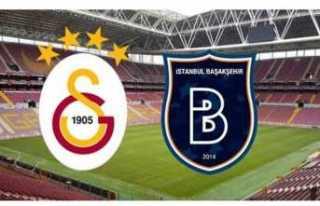 Galatasaray-Başakşehir Maçı Saat Kaçta