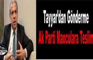 Şamil Tayyar; Siyasetin Limanı Ahlaktır