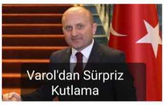 Vali Osman Varol'dan Sürpriz Kutlama