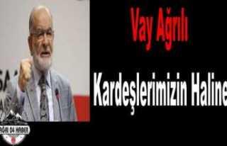 Temel Karamollaoğlu ''Ağrı ya Hüzünlendi''