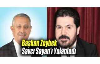 Afyon Belediye Başkanı ,Savcı Sayan'ı Yalanladı