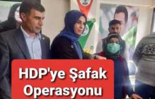 Ağrı'da HDP'ye Operasyon, Gözaltılar...