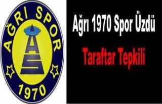 Ağrı 1970 Spor'a Taraftar Tepkisi