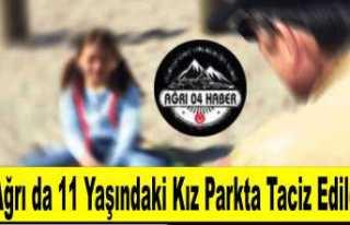 Ağrı da 11 Yaşında ki Kız Çocuğu Parkta Taciz...