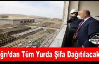 Ağrı Türkiye'nin Yeni Şifa Merkezi Oluyor