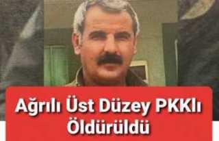 Ağrılı Üst Düzey PKK lı Öldürüldü