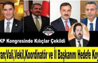 Savcı Sayan Ağrı da AK Parti İktidarını Topa...