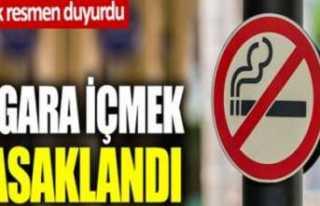 Ağrı da Sigara İçmek Yasaklandı