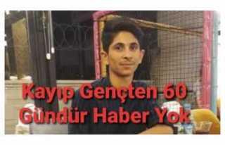 Ağrıda Kayıp Gençten 60 Gündür Haber Alınamıyor