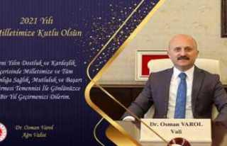 Vali Osman Varol'un Yeni Yıl Mesajı