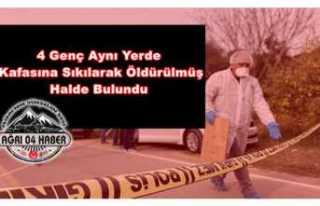 4 Genç Kafasına Sıkılarak Öldürülmüş Halde...
