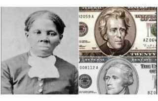 ABD'de 20 Dolarlık Banknotlar Harriet Tubman...