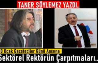 Ağrı İ.Ç Üniversitesi Sektörel Rektörü Karabulut'un...