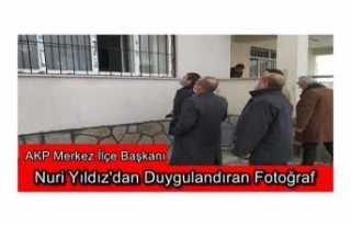 AKP Ağrı İlçe Başkanından Duygulandıran Paylaşım
