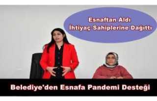 Doğubayazıt Belediyesi'nden Esnafa Pandemi...
