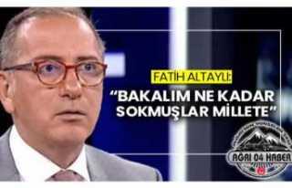 Fatih Altaylı ''Bakalım Ne Kadar Sokmuşlar...
