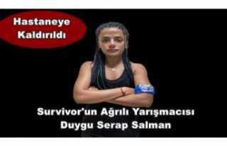 Survivor'un Ağrılısı Duygu Hastaneye Kaldırıldı