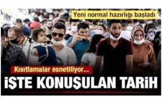 Türkiye de Yasaklar Esnetiliyor,İş Yerleri Açılacak