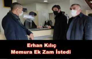 Türkiye Kamu-Sen Ağrı Şubesi Memura Ek Zam Talep...