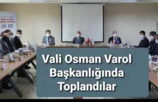 Vali Varol'un Başkanlığında İl İstihdam...