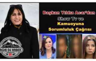 Acar'dan Show Tv'ye Uyarı Vatandaşa Çağrı
