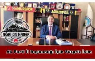 Ak Parti Ağrı İl Başkanlığı İçin Belediye...
