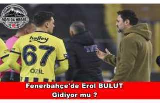 Fenerbahçe'de Erol Bulut için karar verildi!