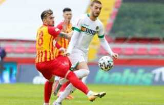 Kayseri Spor Aytemiz Alanyya Spor Maç Sonucu