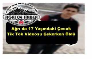 TikTok Videosu Ağrı'da Bir Gencin Hayatına...