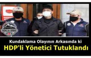 Ağrı'da Yakılan Araçların Faili Olan HDP...