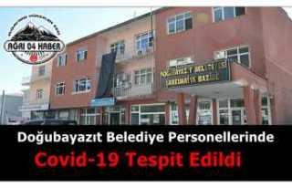 Doğubayazıt Belediye Personellerinde Covid-19 Tespit...