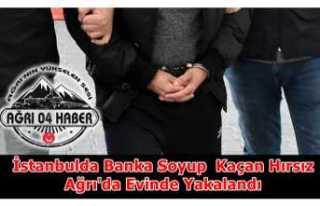 İstanbul'da Banka Soyan Hırsız Ağrı'da...