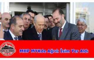 MHP MYK de Ağrılı İsme Görev