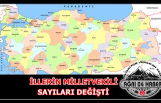 YSK Açıkladı ''İllerin Milletvekili...