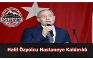 Halil Özyolcu Hastaneye kaldırıldı