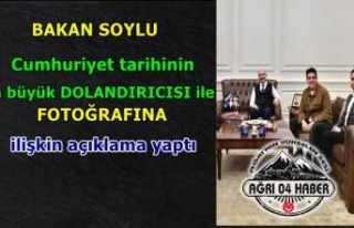 Süleyman Soylu'dan Faruk Fatih Özer Açıklaması