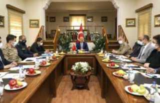 Vali Varol'un Başkanlığında, Doğubayazıt'ta...