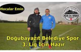 Doğubayazıt Belediye Spor Emin Adımlarla 3.Lig...