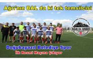 Doğubayazıt Belediye Spor 3. Lig Yolunda