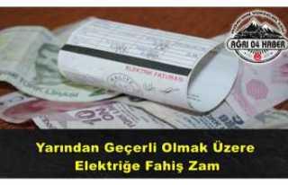 Elektrik Fiyatlarına Fahiş Zam